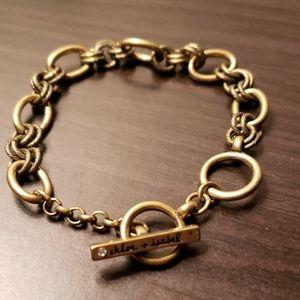 Chloe + Isabel Toggle Charm Bracelet
